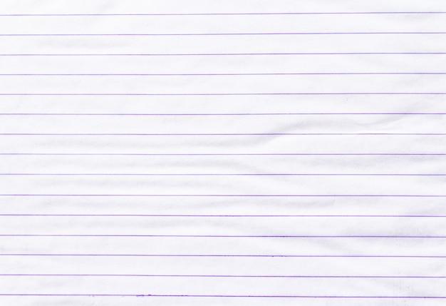 Бумага для заметок на линованной бумаге