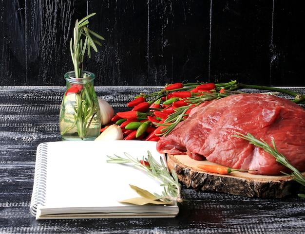 Записные рецепты мяса