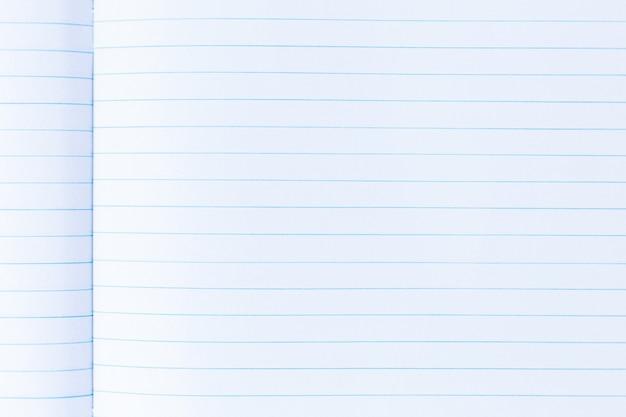 Страница ноутбука с линией текстуры бумаги для фона