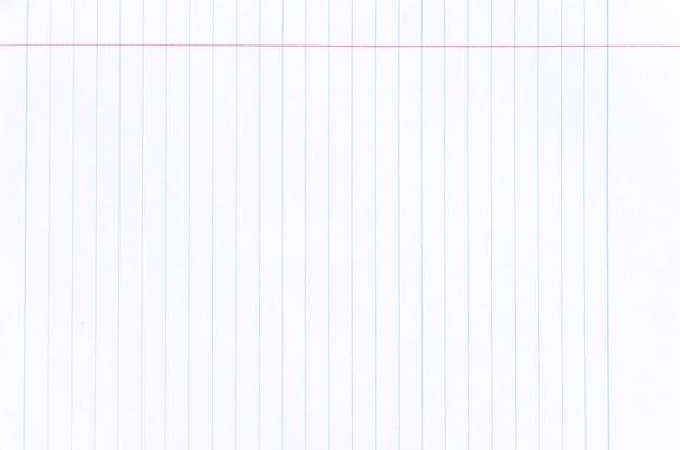 ノートブックの紙の背景