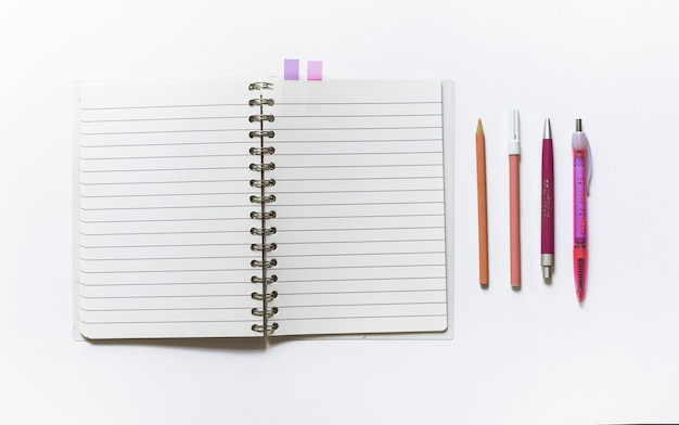 Notebook with school pack