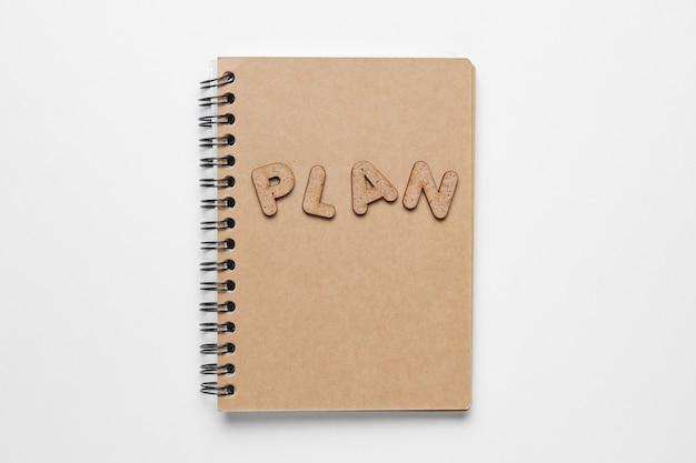 白で隔離される単語計画のノート