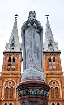 Notre dame cathedral vietnam