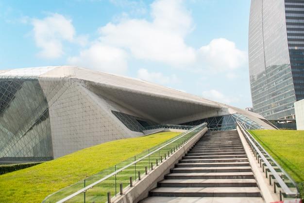 Гуанчжоу, китай-nov.22, 2015: гуанчжоу оперный театр. гуанчжоу