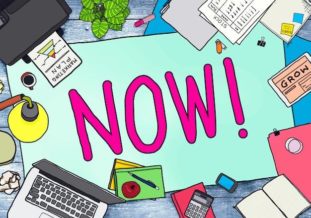 Ora inizia all'improvviso il concetto di gestione del tempo