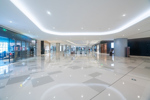 Nterior space of department store