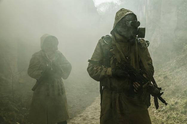 核放棄後の生存者