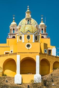 Nuestra senora de los remedios church in cholula, mexico