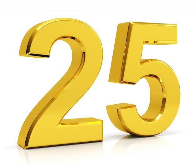 Number 25