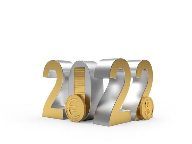 Номер новый год с монетами доллара и евро