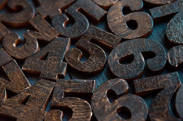 数字のテクスチャ。財務データの概念。数学