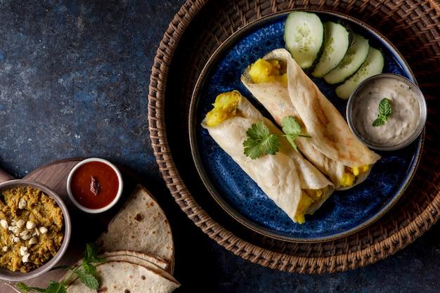 栄養価の高いインドのドーサ組成物