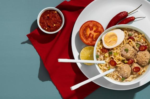 Питательный обед с приготовлением самбала