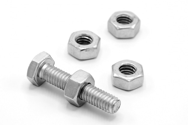 Nuts bolts background Photo | Free Download