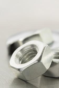 Nuts tool closeup