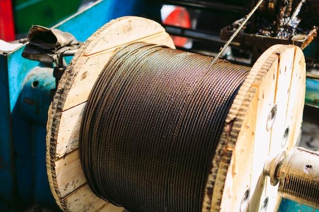 Nylon rope factory,