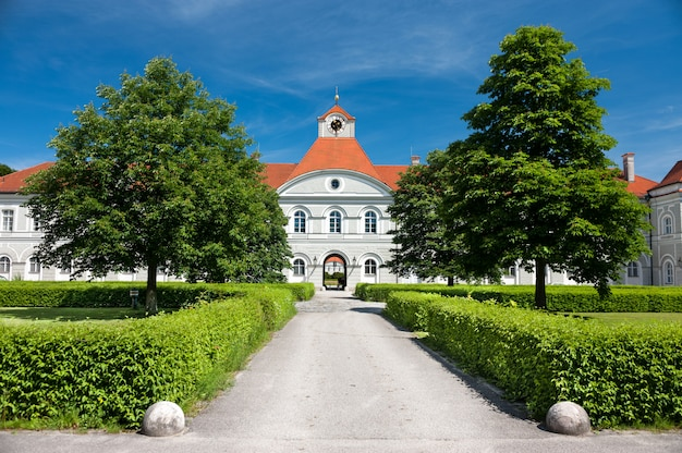Nymphenburg castle in munich, germany