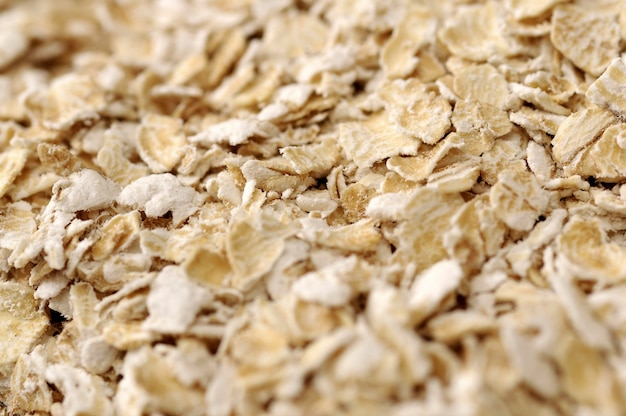 Oatmeal background. good for healthy food concept