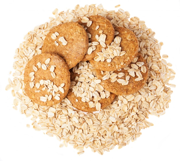 Oatmeal with cookies