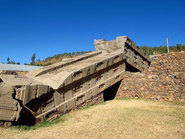 에티오피아 악숨 시의 오벨리스크