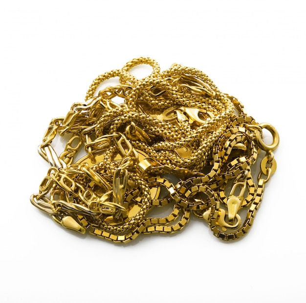 Objects of gold