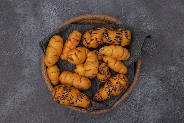 Oca、ペルー料理で使用される塊茎