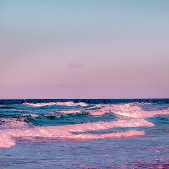 海洋。 beach.canaryisland。旅行のコンセプト