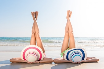 Ocean relax tan island holiday