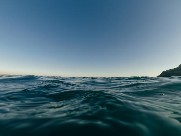 Ocean or sea water close-up