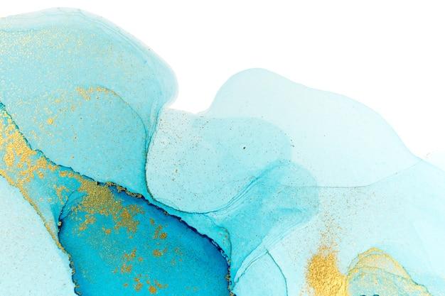 オーシャンスタイルの水彩テクスチャ