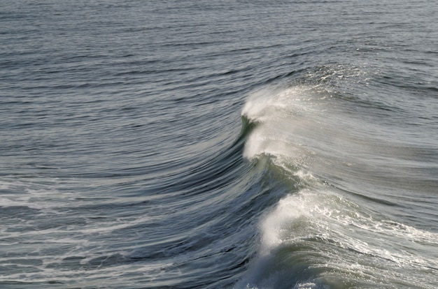 Sfondo di onde dell'oceano
