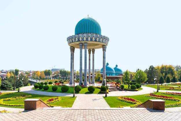 October 2020, uzbekistan, tashkent the memorial complex - the museum of memory of repression victims.
