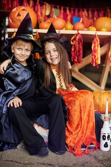 10月はハロウィンパーティーの時期です