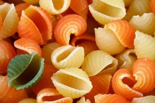 Odd pasta out  close