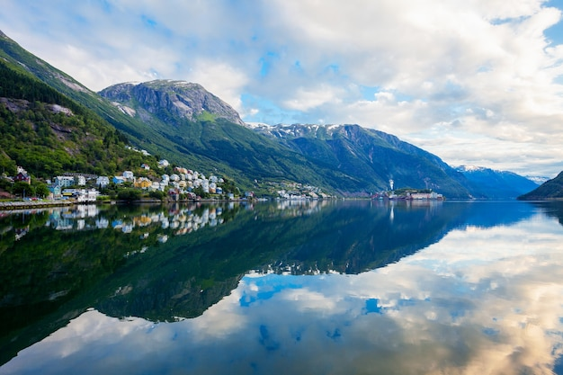 Odda is a town in odda municipality in hordaland county, hardanger district in norway. located near trolltunga rock formation.