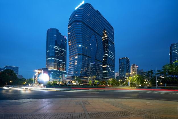 Office building of financial center binjiang district hangzhou china