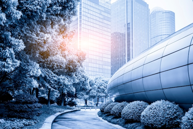 Office building of modern urban buildings in china