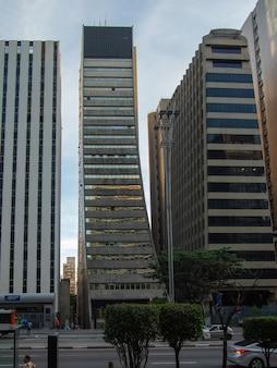 Office buildings on paulista avenue.