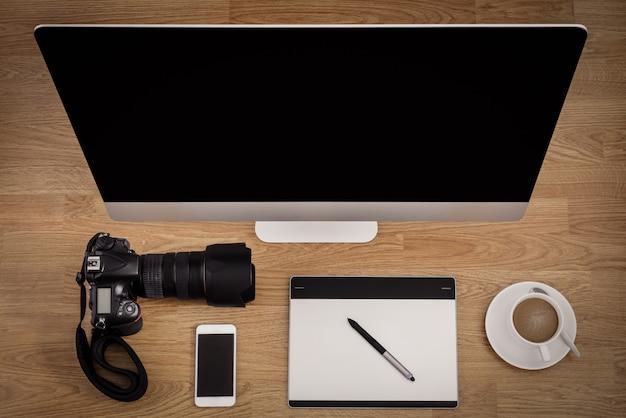 Office equipment, office desk