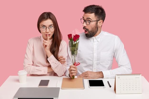 Romanticismo in ufficio