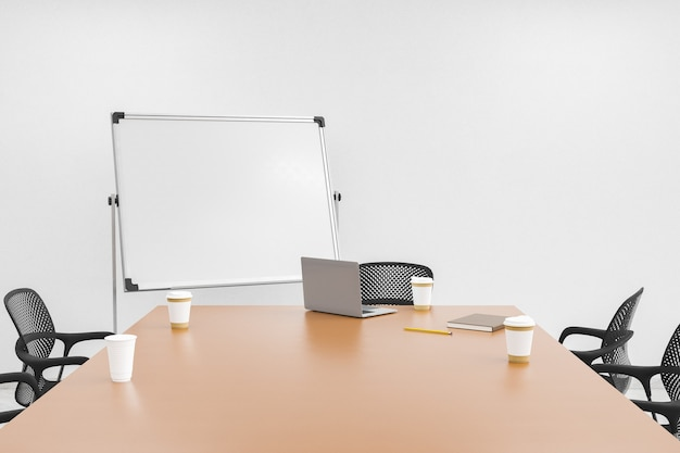 Офисный стол с доской