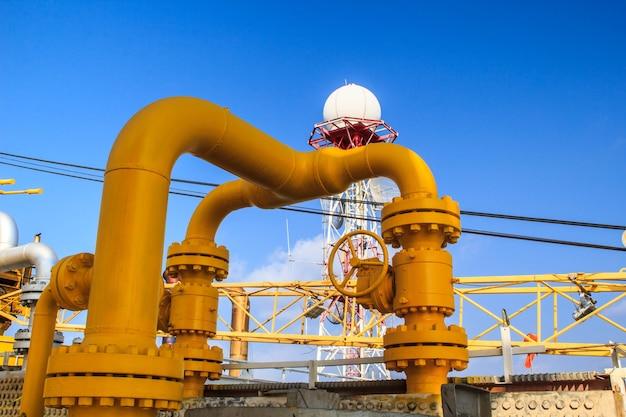 해양 산업 석유 및 가스 생산 석유 파이프라인