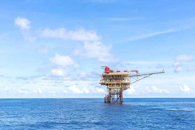 해양 산업 석유 및 가스 생산 플랫폼