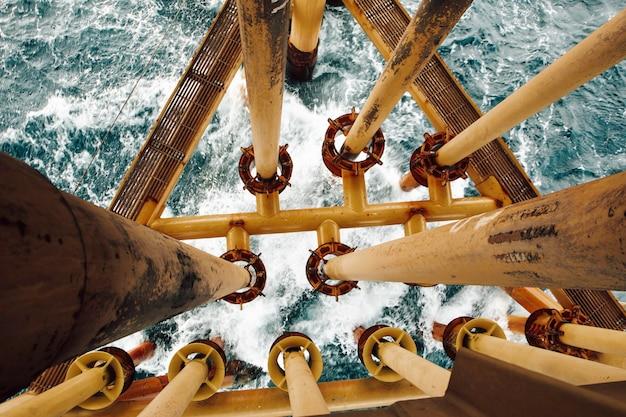 근해 해상 장비 원격 산업 석유 및 가스 생산 석유 파이프라인.