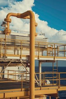 Оффшор промышленность нефтегазовый нефтепровод.