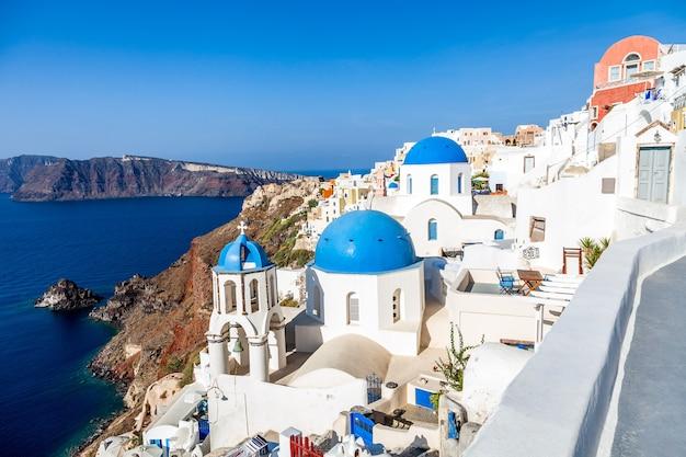 그리스 산토리니 섬에 oia 마을