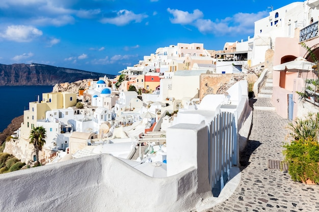 Oia 마을, 산토 티니 섬, 그리스