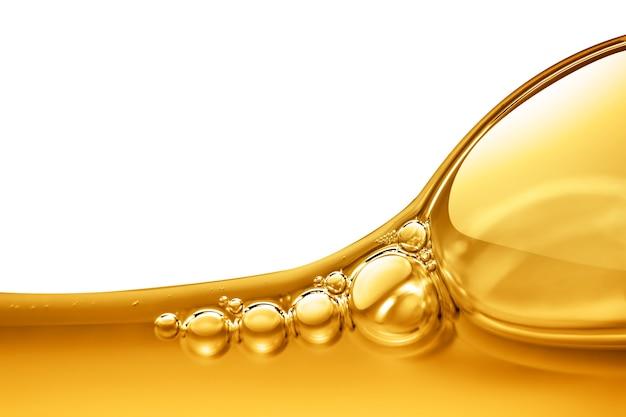 気泡と油の背景