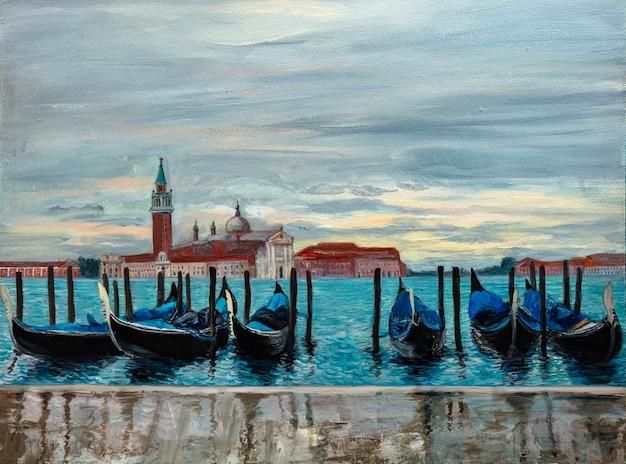 Oil painting fine arts landscape