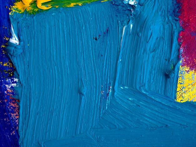 キャンバスの抽象的な背景の油絵テクスチャ